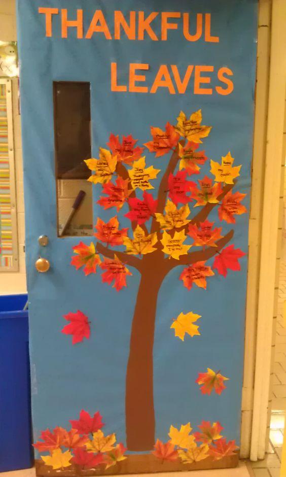 November Classroom Decor ~ November door decorations google search classroom