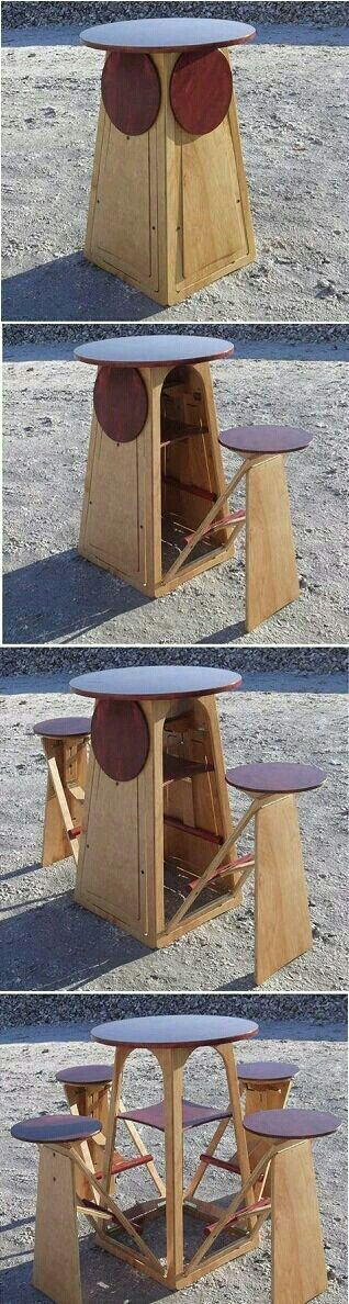 Fold-out Stools