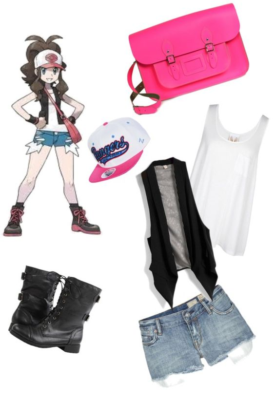 """Pokemon trainer"" by amieraphael ❤ liked on Polyvore"