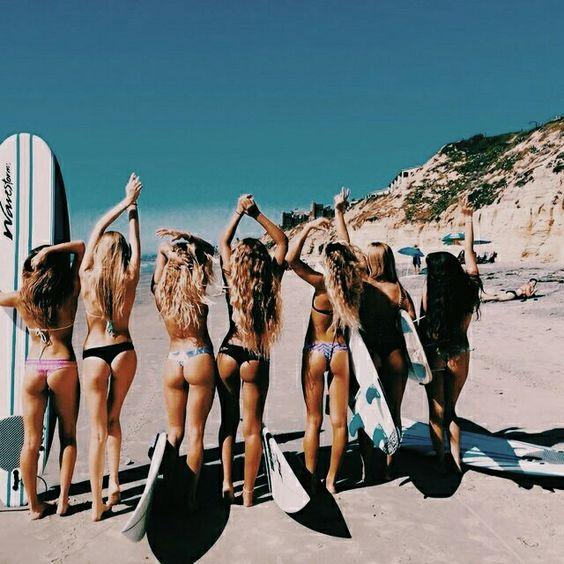 女性たちのサーフィン