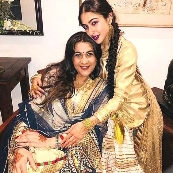 Amrita Singh feels ODD to talk about Sara Ali Khan post Kedarnath teaser launch here's why
