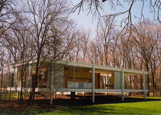 9 - ARQUITETURA: Planta livre arquitetura moderna, uma das maneiras de viver em volta da natureza.: Glass Farnsworth, Houses Architecture, Der Rohe S, Farnsworth House P, Farnsworth House Gmad06 6 Jpg, Glass Houses