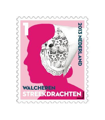 Op het postzegelvel mooi nederland streekdrachten walcheren staat de langettemuts centraal de - Centraal eiland met eethoek ...