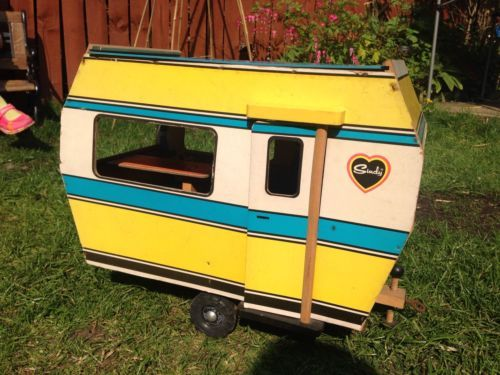 #Vintage #pedigree sindy #caravan wooden 1960/1970s made in holland,  View more on the LINK: http://www.zeppy.io/product/gb/2/142033543366/