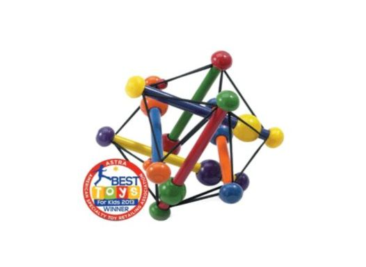 skwish rattle with nontoxic paint