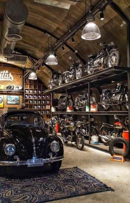 56 Super Ideas Motorcycle Storage Garage Interior Design Garage Design Interior Motorcycle Storage Garage Garage Design