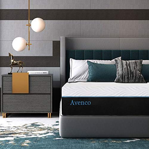 King Mattress Avenco 10 Inch King Memory Foam Mattress In A Box King Bed Mattress With Certipur In 2020 Twin Memory Foam Mattress King Bed Mattress Full Bed Mattress