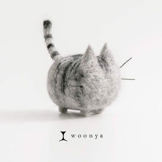 萌萌的《貓咪羊毛氈》根本是Pusheen嘛~ - 圖片6