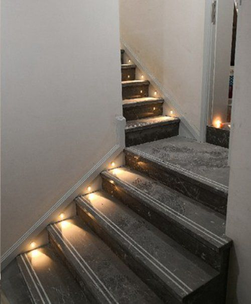 Zxlight Led Staircase Lighting 85 265v Embedded Led Cob Stairs