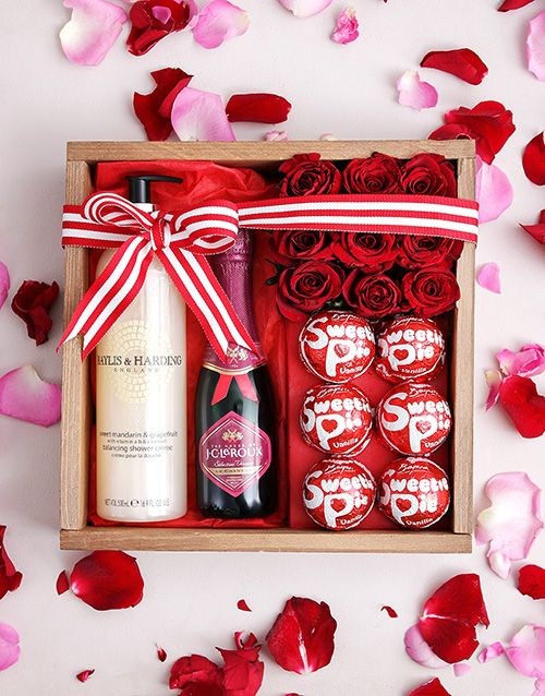 Sweetie Pie Pamper Crate Edible Gifts Valentine Day Gifts