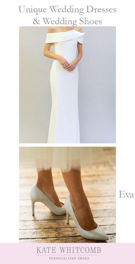 Wedding Shoes Glitter High Heel Pumps Eva Silver Glitter