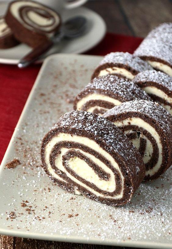 Bringing Back Childhood Memories: #Keto Chocolate Roll Cake!