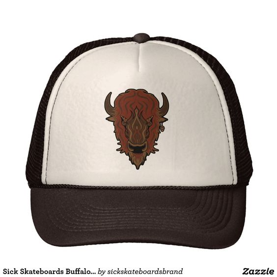 Sick Skateboards Buffalo Roam Trucker Hat