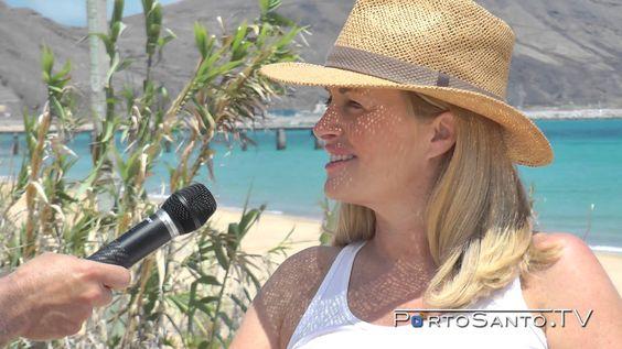 Entrevista a Nini Andrade - Madrinha da praia do Porto Santo - 7 Maravil...