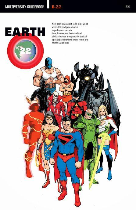 Comics Manga Videos y Mas #TheMultiversity2014_2015DC