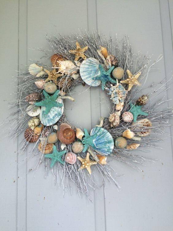 Diy Beach Decor Style Wreaths For Your Home Diy Beach Decor