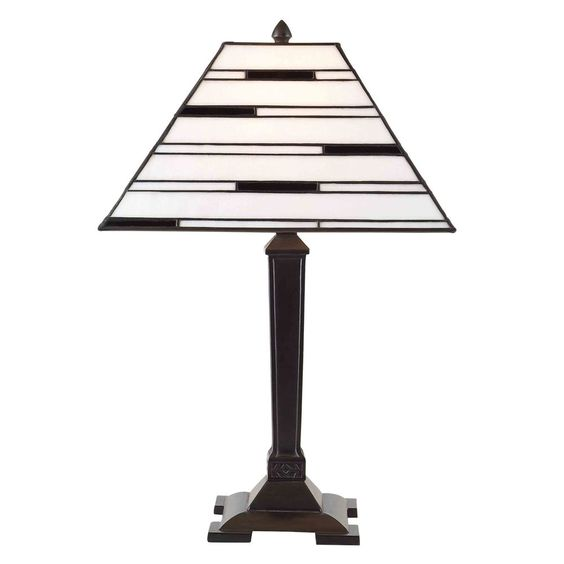 Aztec Lighting Bronze Tiffany Style 1-light Table Lamp