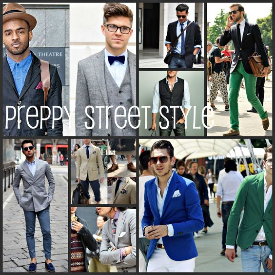 Best Preppy Looks for Men | ... of the 'Preppy' look. Check out a feminine take on this trend