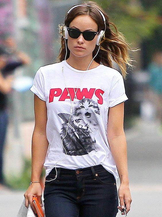 Fancy - Paws T-Shirt by Alex & Chloe