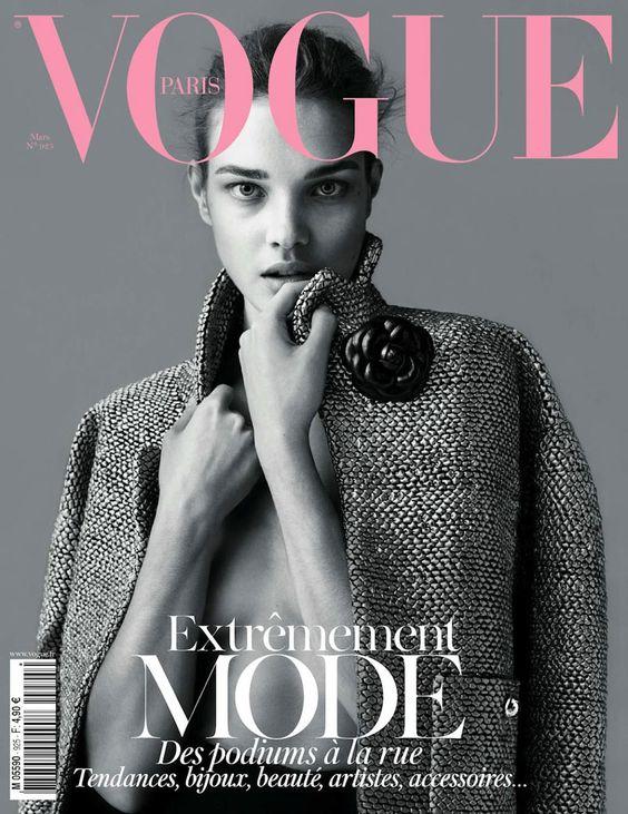 natalia vodianova by mert & marcus Vogue Paris march 2012