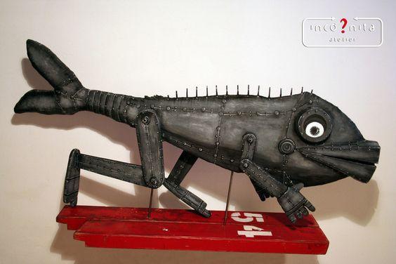 A corrida - Sculpture,  21x110x45 cm ©2015 por Incógnita Atelier -