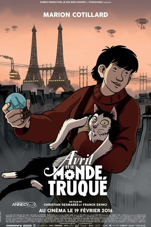 Avril Et Le Monde Truqué Streaming : avril, monde, truqué, streaming, 720p]™, April, Extraordinary, World, Streaming, Francais, Flixmovieshd.com, Animated, Movies,, Rochefort,, Parenting, Teenagers