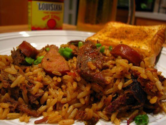 barbecue Smoked Sausage Recipes | Smoked venison jambalaya, how to ...