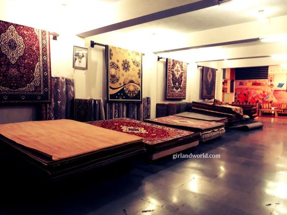 carpets made in jammu kashmir india are world famous and intricately weaved read details by clicking on the picture to reach the blog
