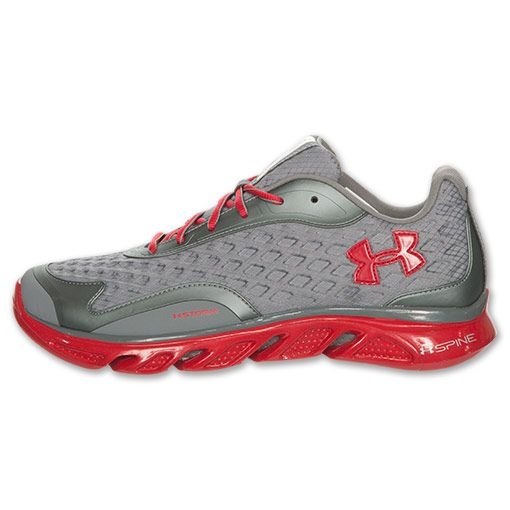 under armour shoes red. under armour shoes spine | storm men\u0027s running shoe grey/ red [93341] - $74.90 pinterest armours, and t
