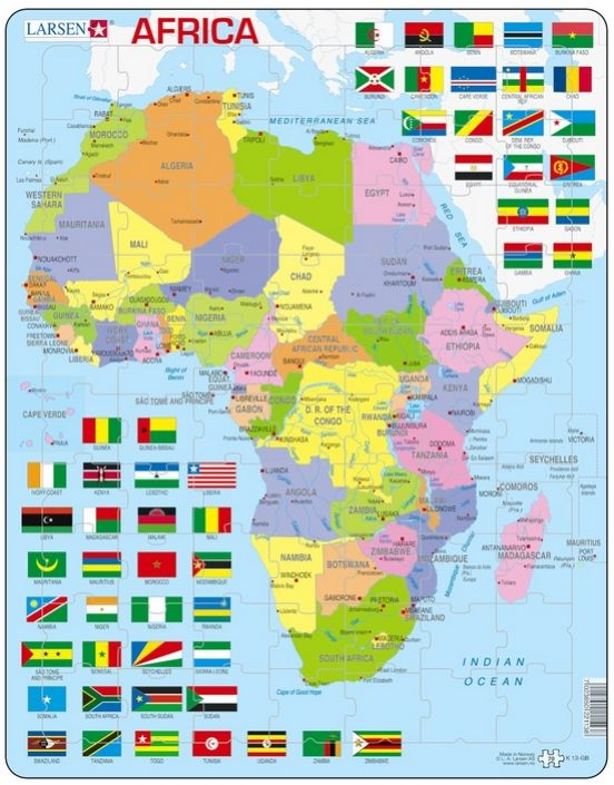 Carte Afrique African Map Geography Lessons History Geography