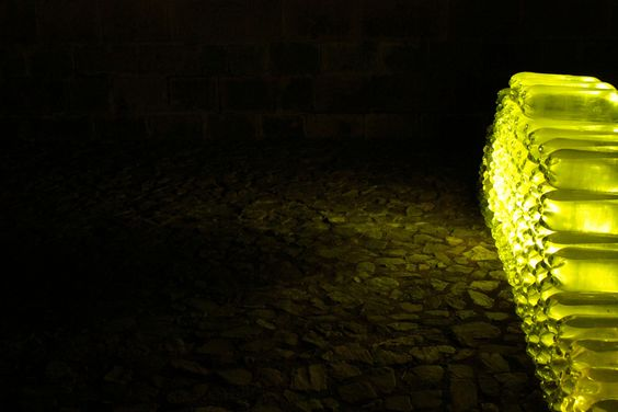 Final night of La Luz, by Celso, at Qorikancha in Cusco, Peru