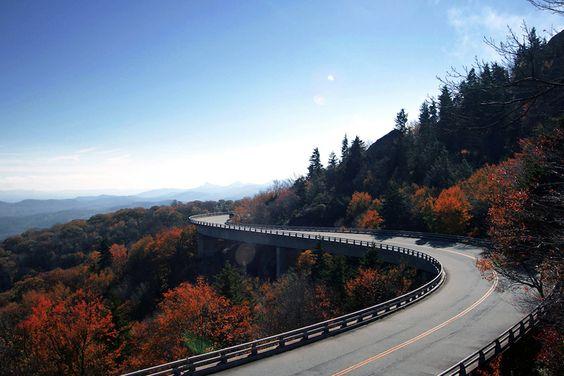 Blue Ridge Parkway, North Carolina & Virginia