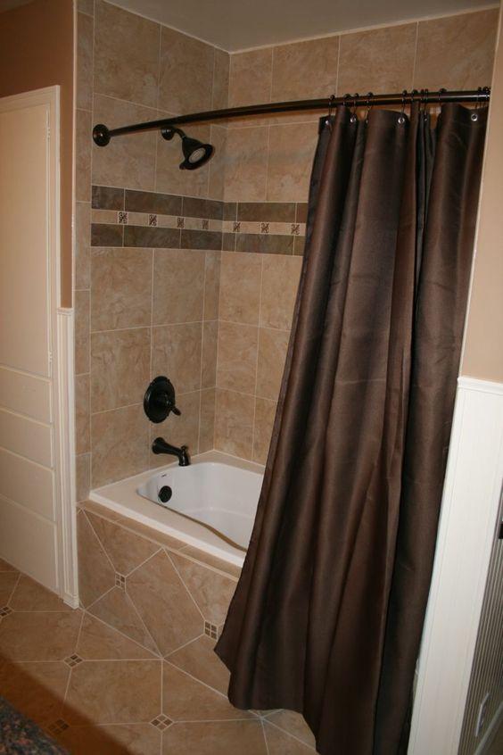 Bathroom remodel wall tile tub and shower faucets and trim bathtub Bathroom decor tiles edgewater wa