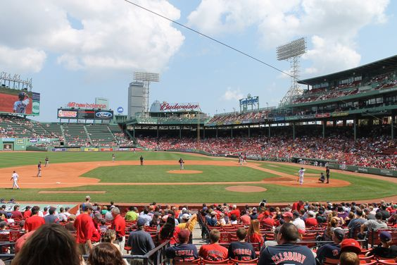 Futures at Fenway is a great event to take the whole family. this is from the minor league match ups in 2011.: Fenway Park, Event, Minor League