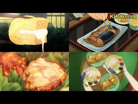 delicious anime food compilation アニメの美味しい食事シーン集 part 3 youtube 食事シーン 美味しい 食事