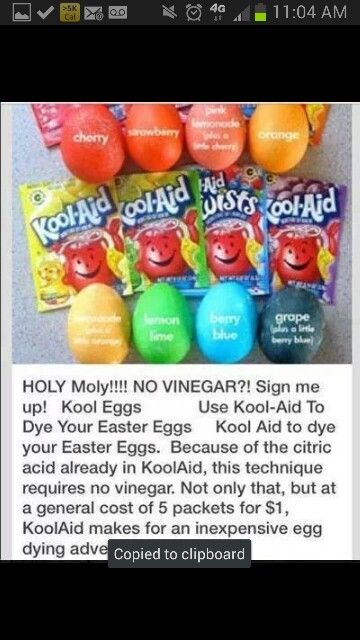 Easy way to paint easter eggs
