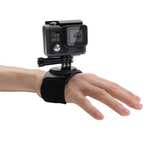 1057 PULUZ 3 in 1 Hand Wrist Arm Leg Straps 360-degree Rotation - 2 1 degree