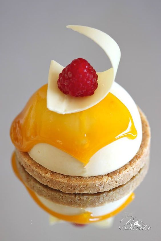 Mousse de mango y yogur con ganache de chocolate receta - Mouse de yogurt ...