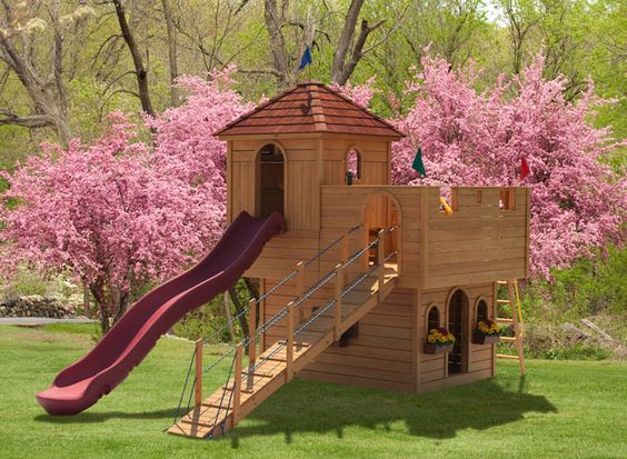 the 920 stately abode kids wooden play set what prince or princess