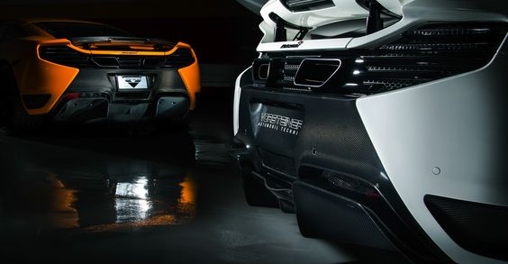 Mclaren MP4-12C Collection Series Mclaren MP4-12C Carbon Fiber Rear Bumper | Vorsteiner