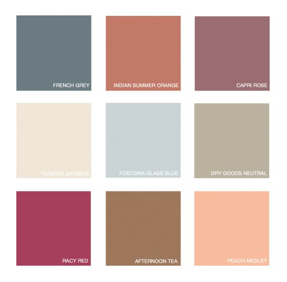 Bring the warm feeling of fall into your home all year for Warm neutral color palette