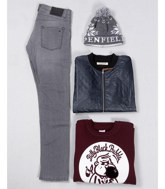 Masdings.com - Men's Fashion - Designer Clothing for Men - Lessons in layering: Casual looks