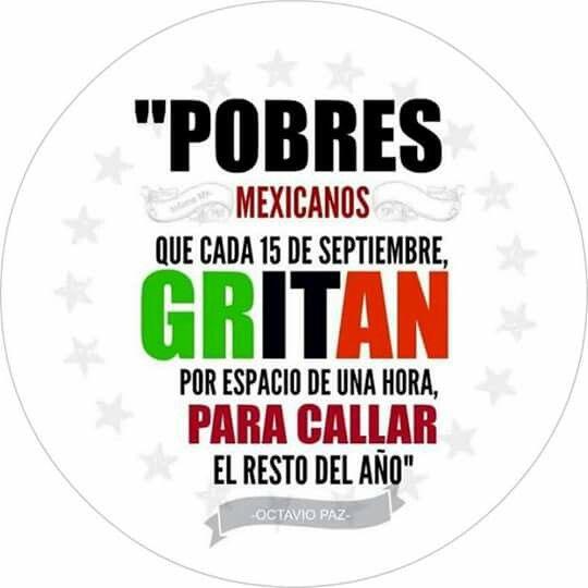 Pobres mexicanos.