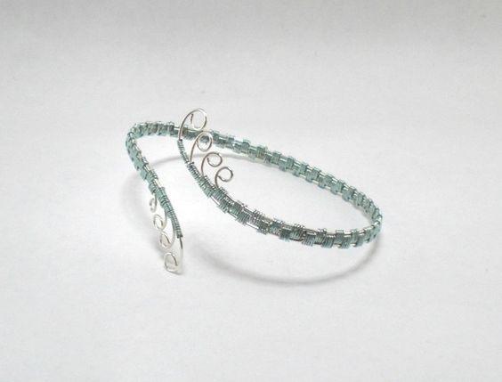 Armreif ~ Silber/Mint