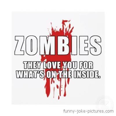 Zombie Funny Meme Caption Picture