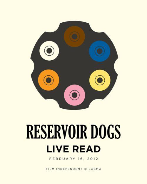 Minimalist Movie Poster: Reservoir Dogs by Matt Owen