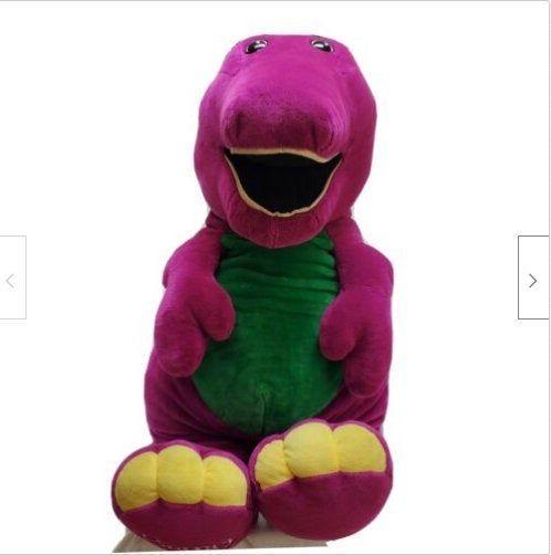 Rare Vintage 4 Tall Barney Plush 48 1992 Stuffed Purple Dinosaur Lyons Group Animal Plush Toys Dinosaur Plush Toy Purple Stuffed Animals