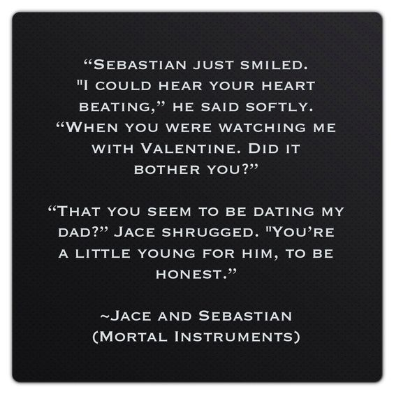 Jace herondale and Sebastian Morgenstern (Mortal ...