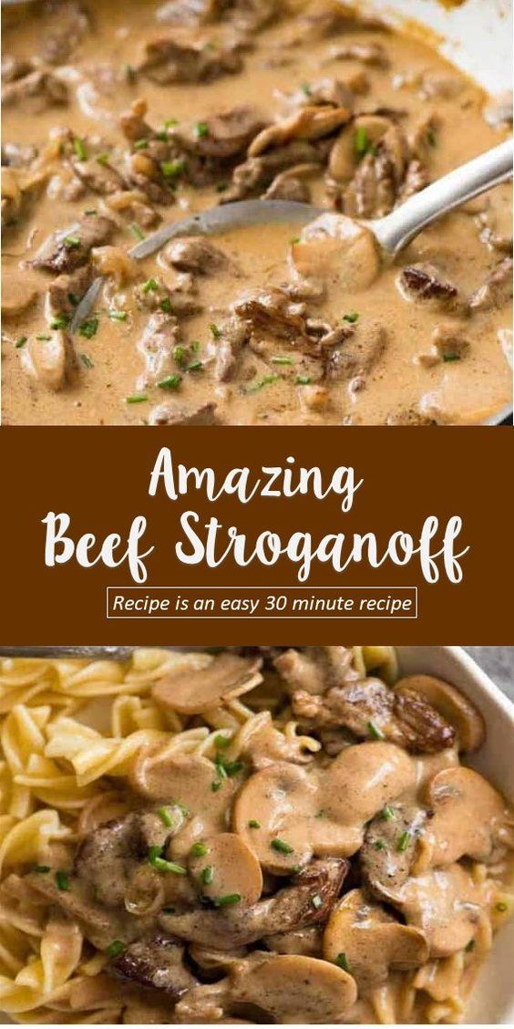Amazing Beef Stroganoff