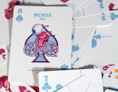 "Consulta este proyecto @Behance: ""Poker Deck for Bycicle/Fournier by Aleix Gordo…"